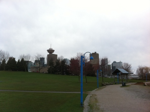 Crab Park, taken at the start of my East Vancouver long run